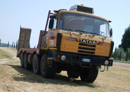 Semi trucks of Israel | Tatra Military Trucks