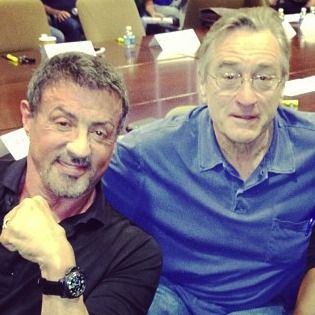 "Sylvester Stallone and Robert De Niro's new movie ""Grudge Match"" is now coming out on Christmas Day."