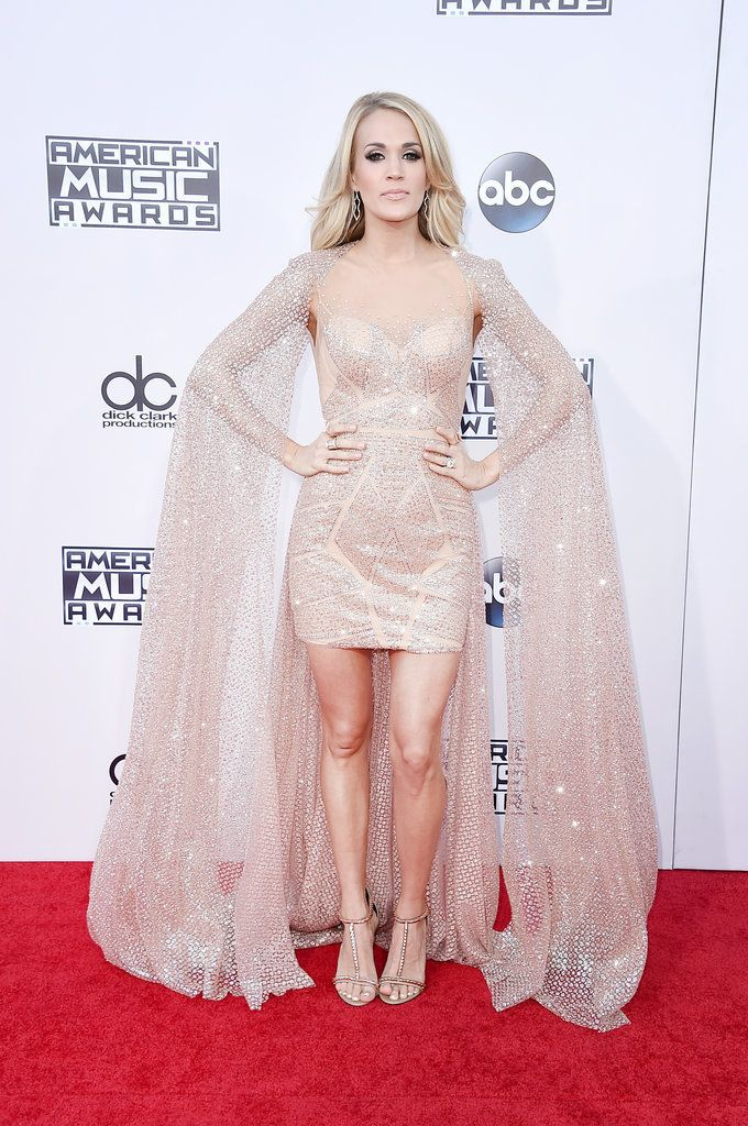 Carrie Underwood Was Like a Human Butterfly at the AMAs