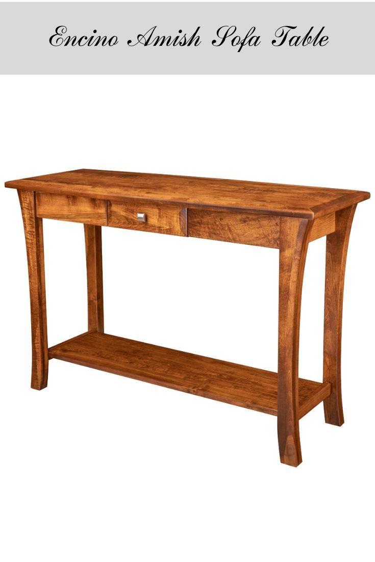 Encino Amish Sofa Table In 2020 Diy Living Room Furniture Creative Living Room Ideas Sofa Table