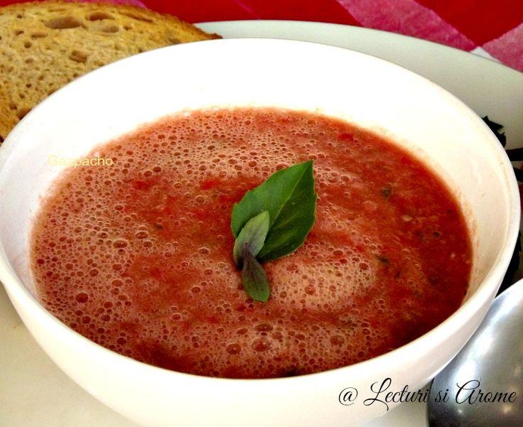 Gazpacho cu aroma de corcoduse