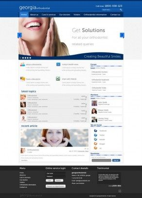 Website Design for Orthodontist