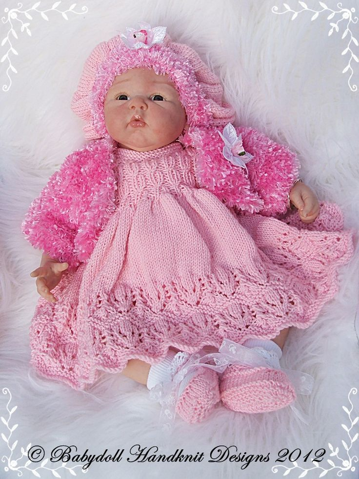 110 Best Baby Amp Doll Handknit Designs Images On Pinterest