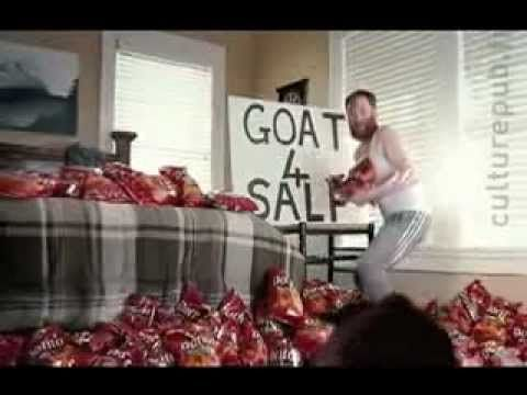 Goat + Batshit Insanity + Doritos marketers = win. #adspiration  http://nygirlaustinworld.wordpress.com/2013/02/07/my-picks-for-best-and-worst-superbowl-ads-no-particular-order/