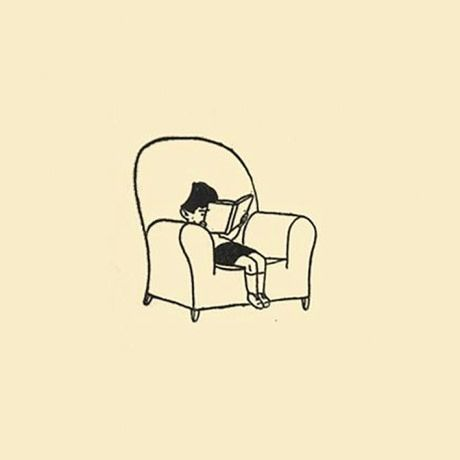 Portrait of a Small Boy Reading; by Gluyas Williams
