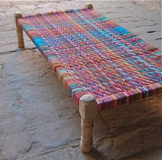 Indian traditionnal bed : sherpai