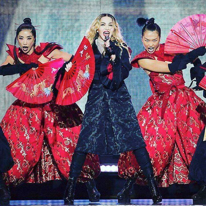 Rebel Heart tour; New York City