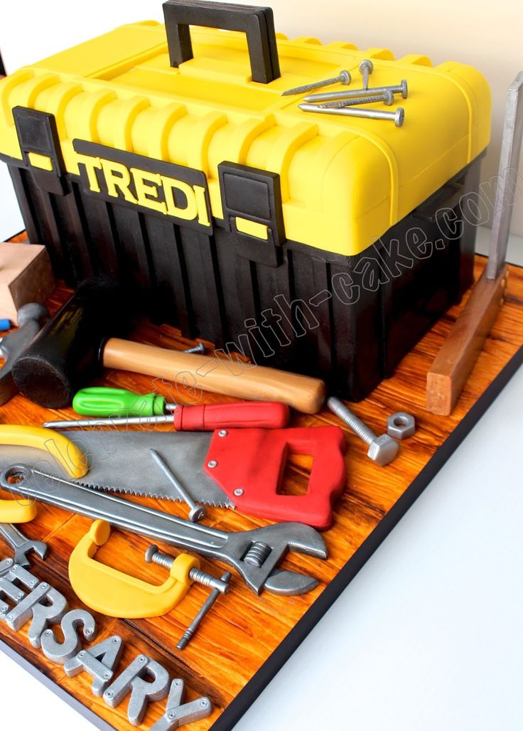 Rolling Tool Box For Baking And Cake Decorating Tools