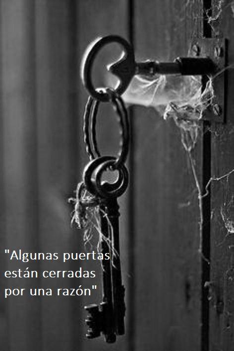 Las razones que cierran puertas son personales, y como tal merecen ser respetadas. Secretos, situaciones pasadas, circunstancias de vida, información que no se quiere compartir, pertenecen a las d…