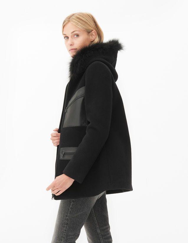 Marlene Coat - Coats - Sandro Paris