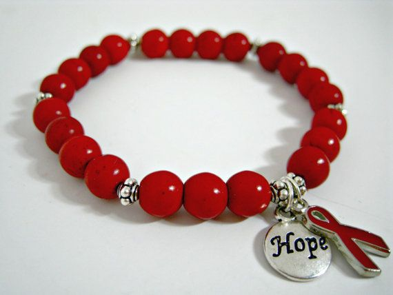 Heart Disease Awareness Heart Disease Bracelet by ArtistryJewels