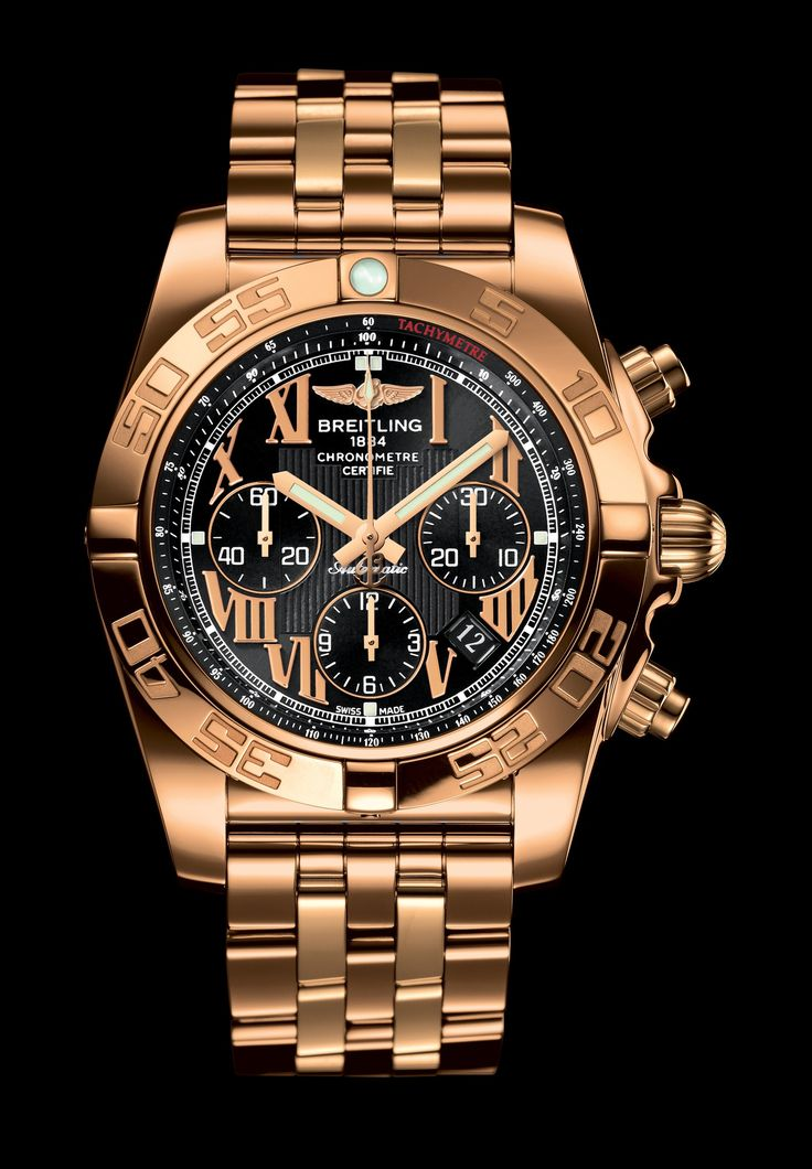 BREITLING CHRONO........ Nice but too flashy gold for me