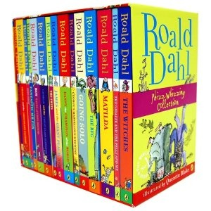Roald Dahl 15 Book Box Set (Slipcase) want this so much but can get it here in lreland and check amazon and they wont deliver here so sad :'( loved them as a kid