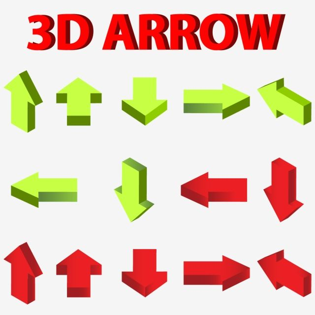 Colorful 3d Arrow Icon Vector Design 3d Arrows Icon Colorful Png And Vector With Transparent Background For Free Download Vector Design Geometric Tattoo Design Business Icon