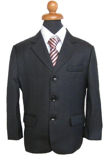 """Κοστούμια για Αγόρια - Σμόκιν :: Κοστούμι σε Μαύρο για Αγόρι """"Lanzo"""" - http://www.memoirs.gr/"""