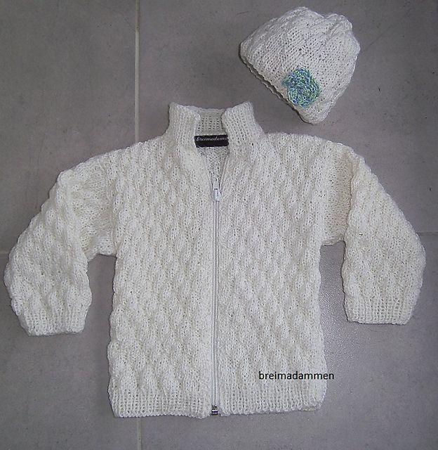 Wit babyvestje pattern by de breimadammen