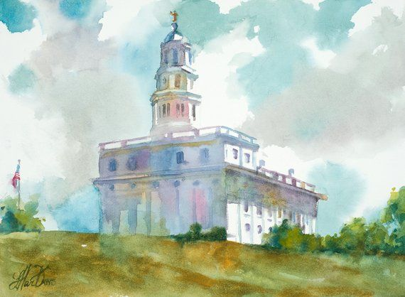 Nauvoo Lds Temple Nauvoo Illinois Illinois Temple Lds Art Lds