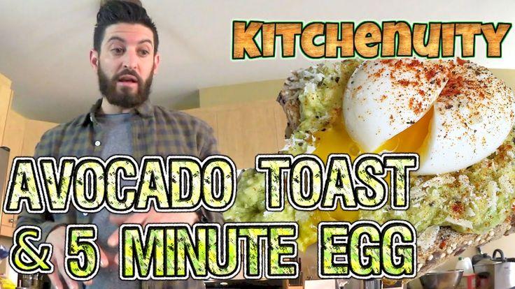 5 Minute Egg + Avocado Toast | Kitchenuity with Josh Elkin!