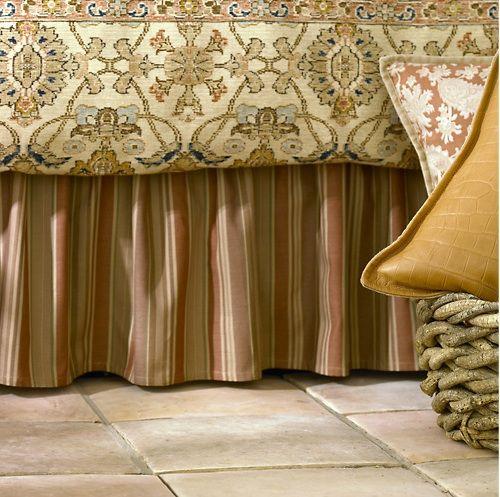 Подзор — нарядная юбка для кровати - Ярмарка Мастеров - ручная работа, handmade