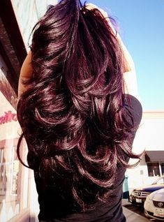 black hair with subtle purple tint - Google Search