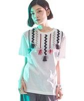 TOGA PULLA Decorative T-shirt