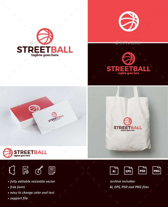 Street Ball Logo — Photoshop PSD #party #web • Download ➝ https://graphicriver.net/item/street-ball-logo/19101200?ref=pxcr