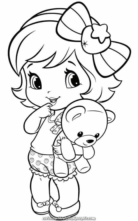 Great Coloring Pages - Little Woman Baby Coloring Pages, Cute Coloring  Pages, Coloring Pages For Girls