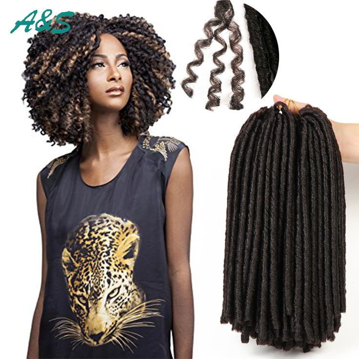 Crochet tresses faux locs cheveux extension dreadlocks doux locs expression tressage cheveux synthétiques tressage cheveux marley braid cheveux