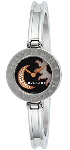 bvlgari bzero1 black dial women watch bz22bsmdsss