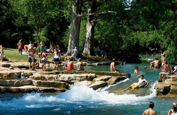 San Marcos River Texas Summer Swimming Holes