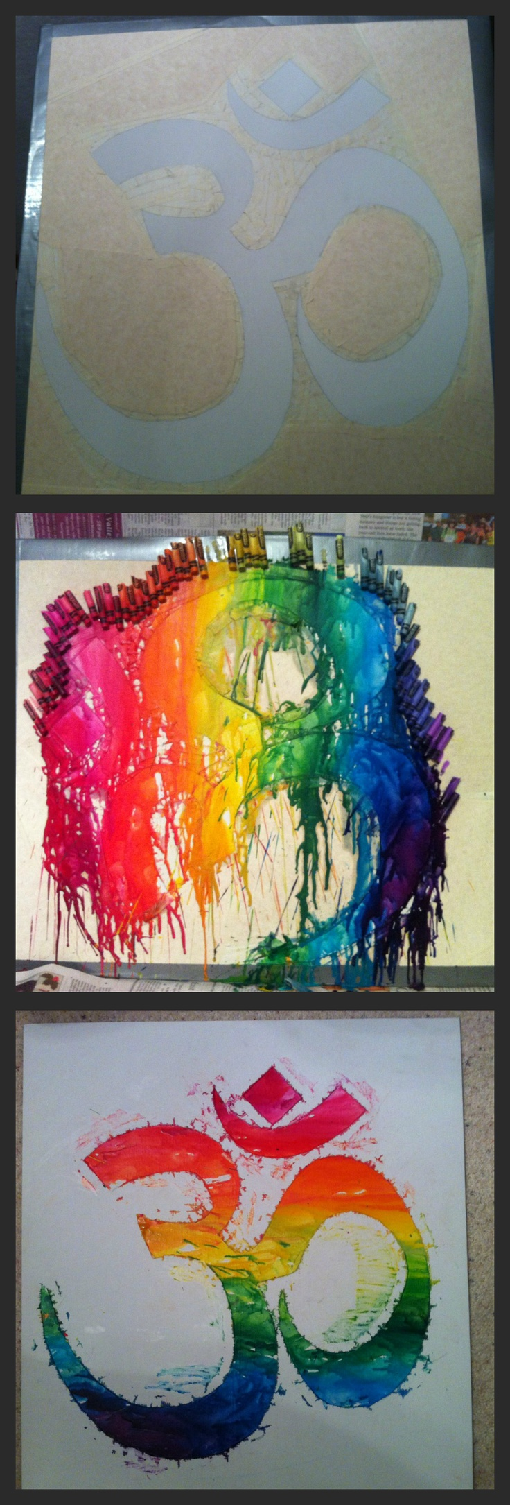 Crayon melting art images amp pictures becuo - My Crayon Melting