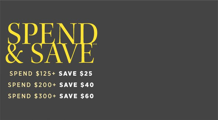 "Saks Off 5th takes $25 off orders of $125 or more, $40 off orders of $200 or more, or $60 off orders of $300 or more via coupon code ""SAVENOW&quo..."