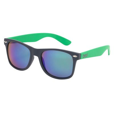 FLASH SALE!  Get £10 off our Two Tone Mirror sunglasses in charcoal/green.  Just £20 until midnight.