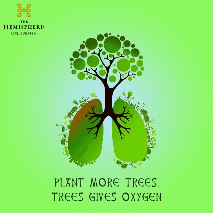 Green Treeplant: Plant More #Trees, Trees Gives Oxygen