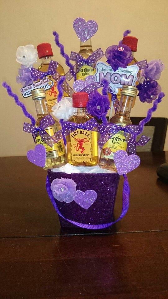 17 Best Images About Unique Alcohol Candy Bouquets On