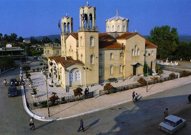 Saint John the Russian in Evia