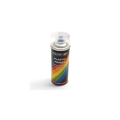 MOTIP – BOMBE DE PEINTURE MOTIP PRO APPRET POUR PLASTIQUE TRANSPARENT spray 400ml (04063): BOMBE DE PEINTURE MOTIP APPRET PRO POUR…