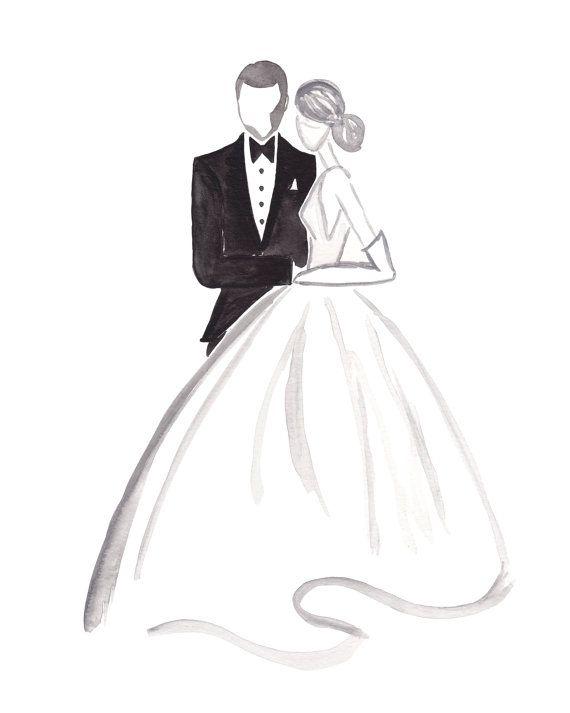 Свадебная открытка эскизы