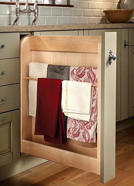 Dónde colgar los trapos de cocina