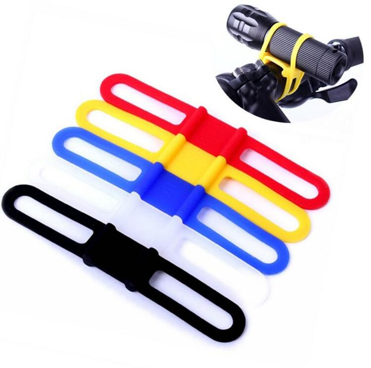 hahahah genius!!!! :D....New Silicon Strap Mountain Road Bike Torch Phone Flashlight Bands Elastic Bandage Bicycle Light Mount Holder Bike Accessories on Aliexpress.com | Alibaba Group
