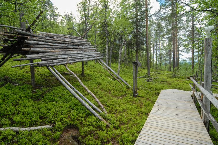 A traditional shelter building. Image by Kimmo Hyötylä.