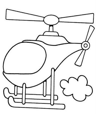helicopter coloring page 01 coloring page free air transport coloring pages - Air Transportation Coloring Pages