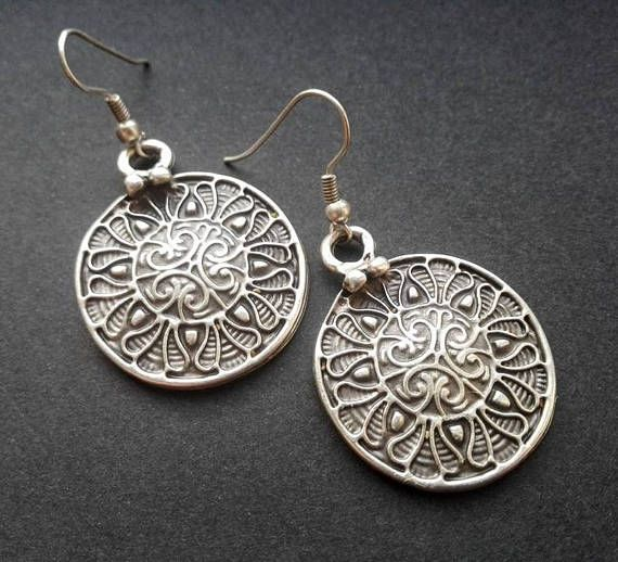 Hey, I found this really awesome Etsy listing at https://www.etsy.com/listing/517527014/antique-silver-plated-earrings-ethnic