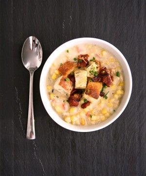 // Cook Once, Eat Thrice: Bacon-Laced Chowder