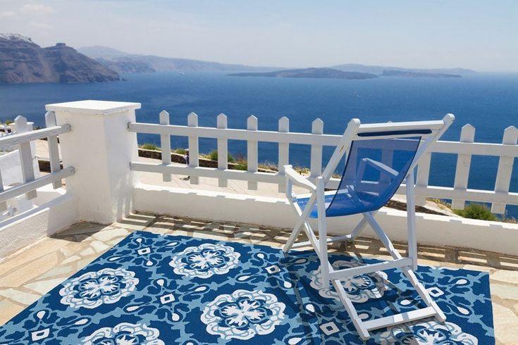 Mediterranean Mosaic Indoor/Outdoor Rugs $75-$1,225