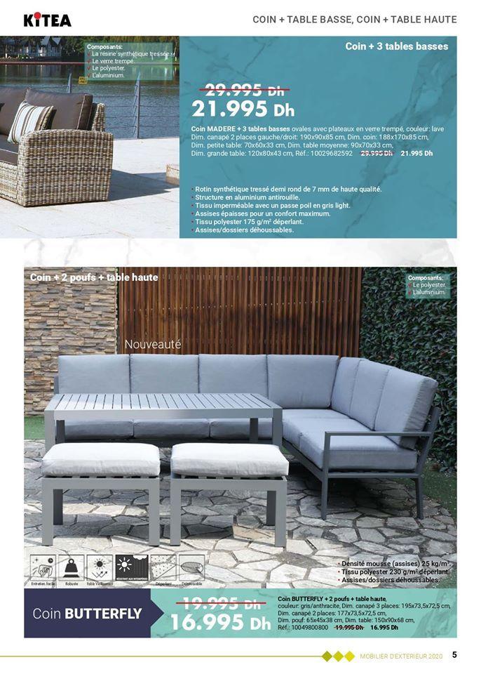 Depliant Kitea Collection Jardin Printemps Ete 2020 Catalogue Maroc Et Promotion Maroc Depliant Maroc En 2020 Depliant Table Basse Ovale Printemps Ete