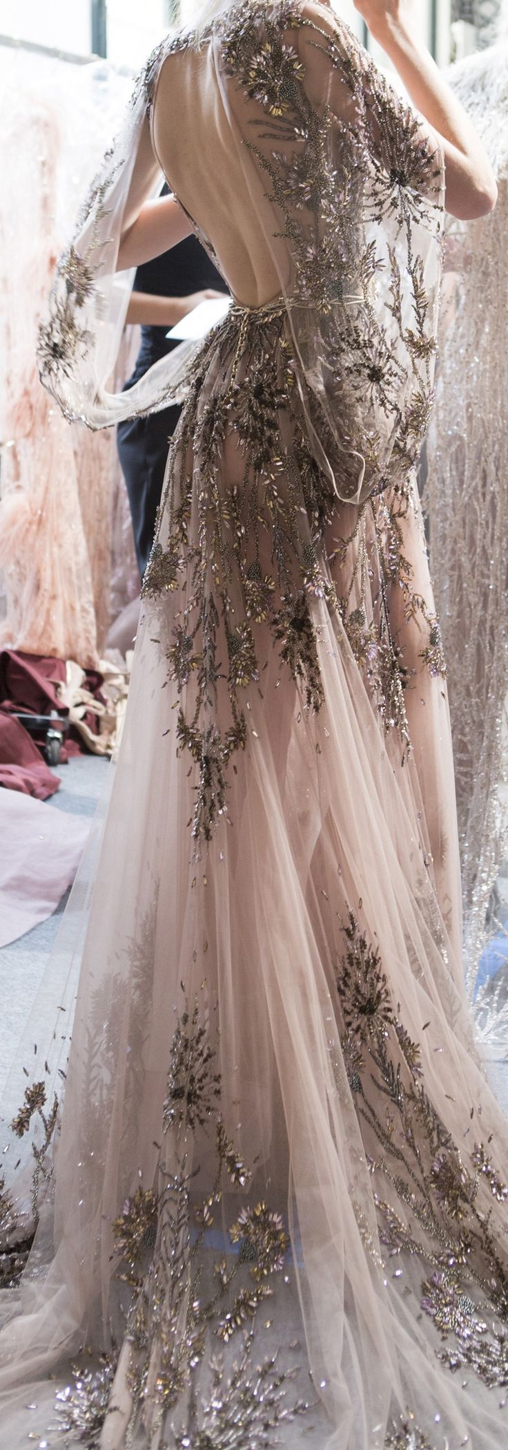Zuhair Murad Fall 2017 Haute Couture @GorgeousFashion (Beauty Design Clothes)