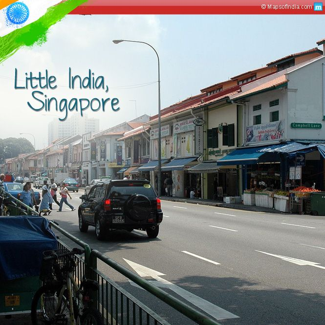 Little India is a colourful Indian locality in Singapore. Just as our country, this place is also a cultural hub in Singapore.