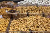 Taralli croustillant, parfumé des Pouilles, Italie Photos De Stock Libres De Droits