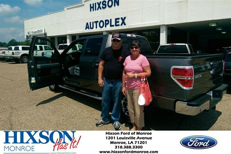 Congratulations to Ronnie Thompson on your #Ford F-150 purchase from Steven Mcclellan at Hixson Ford of Monroe! #HixsonHasIt